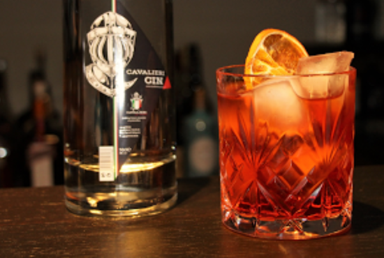 Cavalieri Gin cocktail contessa